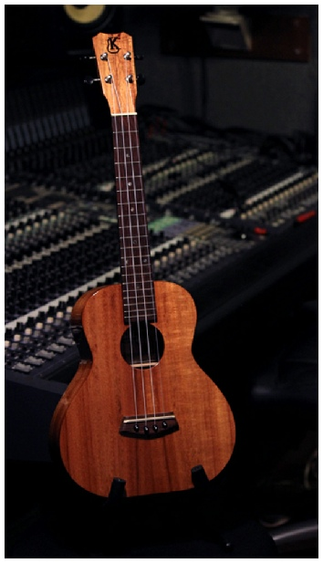 Kanile'a Ukulele K 1 in studio Ukulele Music hawaii