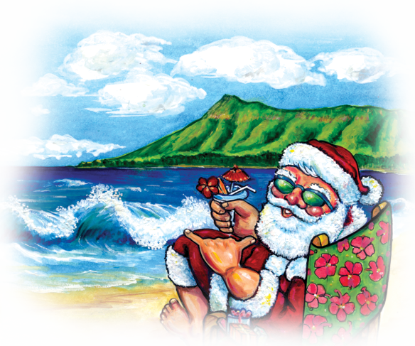 Ukulelle Hawaii An Ukulele Christmas